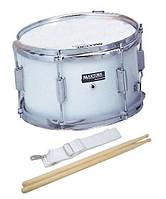 "Maxtone MSC12 White Маршевый малый барабан 12""х7"""