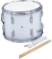 "Maxtone MSC14 White Маршевый малый барабан 14""х10"""