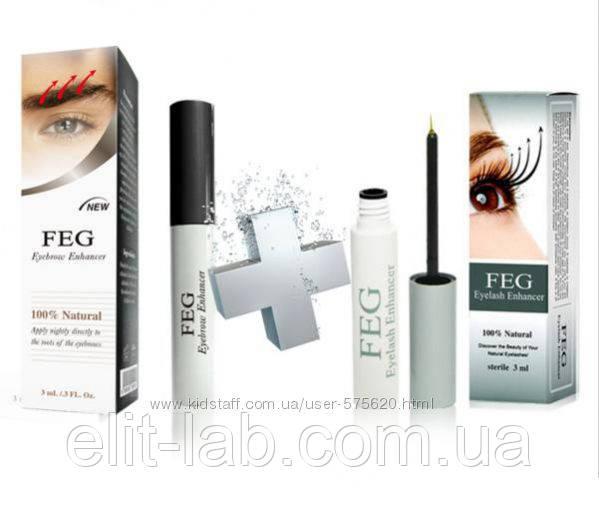 Сироватка для вій і брів FEG Eyelash Enhancer 2 шт