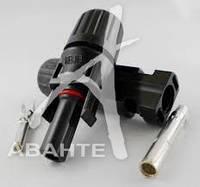 Кабельный соединитель МС4, пара 4 мм
