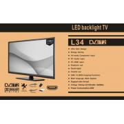 LED Телевизор L34 + DVB-T2 (32 дюйма)