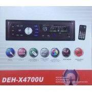 Автомагнітола DEH-X4700U Еврофишка + радіатор