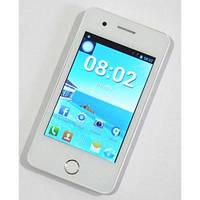Смартфон IPhone 6 mini Android, белый, +ЧЕХОЛ Селфи палка  в ПОДАРОК!