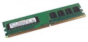 Модуль памяти DDR II 1 Gb 667 Mhz PC-5300 Samsung (M378T2863RZS-CE6)