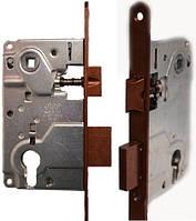 Механизмы для дверей AGB Centro ЕВРО AN медь