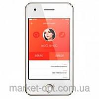 Телефон iРhone T6 Silver  Акция Селфи палка  в ПОДАРОК!