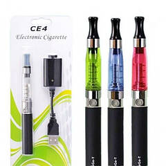 Электронная сигарета EGO CE4 Strong Жидкость Black. Цена снижена