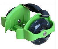 Ролики на пятку Flashing Roller SK-166-G(с подсветкой) зеленый