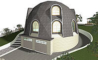 Строительство купольный дом, фото 1