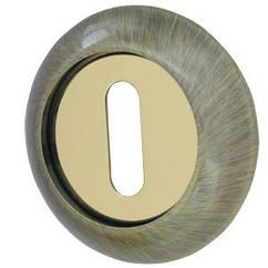 Накладка (сувальда) Armadillo PS-1AB/GP-7 бронза/золото 2шт.