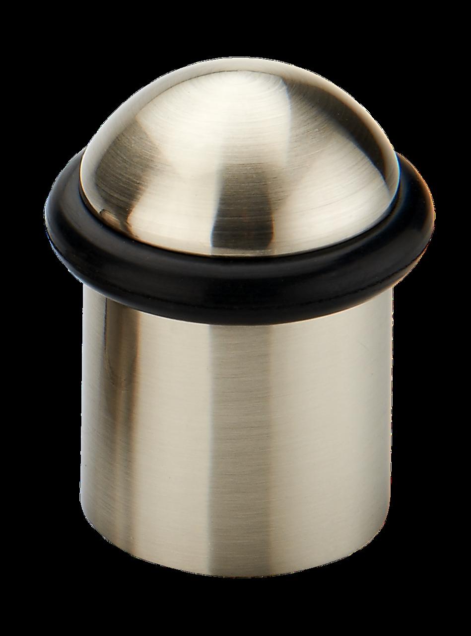 Упор дверной (40х26 мм) матовый никель LINDE M-38L SN