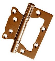 """Петли дверные накладные бабочка USK 4""""х3""""х2.5-2BB (AB) 38мм"""