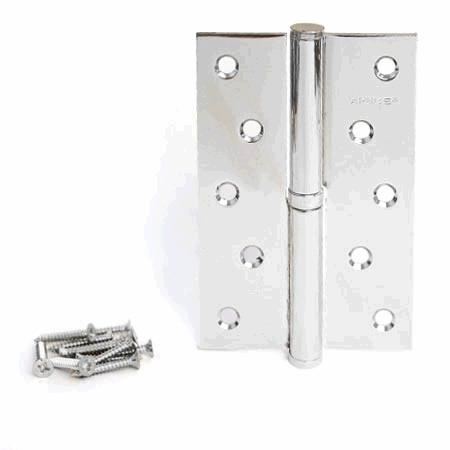 Петли дверные APECS 125/75-B-CR-L