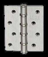 Петли универсальные дверные (100/75/2 мм) матовый никель MVM H 100 SN