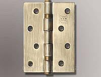 Петли универсальные дверные (100/75/2 мм) полир.латунь MVM M-4403 BP