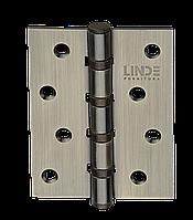 Петли универсальные дверные (100/75/2 мм) старая бронза MVM H 100 AB