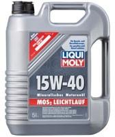 LIQUI MOLY MoS2 Leichtlauf Super Motoroil SAE 15W-40 4л