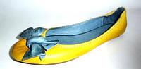 Балетки желтые, фото 1