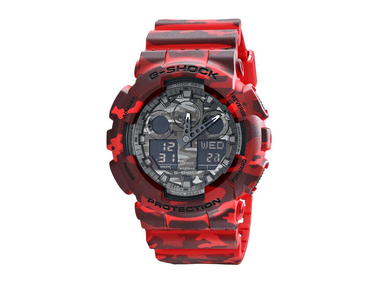 Часы мужские Casio G-Shock GA-100CM-4AER