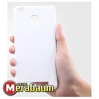 Чехол Nillkin Xiaomi Redmi 3 Pro (3S) - Super Frosted Shield White
