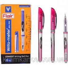 Ручки шариковые Flair-Writometer красн (10 км)