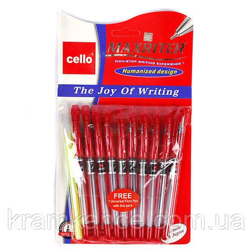 Ручки шариковые GELLO-Maxriter красн