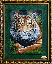 Набор для вышивки с бисером Хозяин джунглей