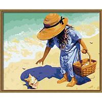 Набор для рисования картины Ракушка на побережье