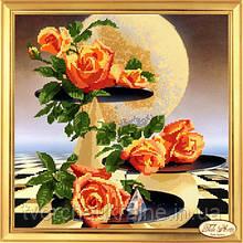 НГ-002 Лунные розы. Набор для вышивания бисером