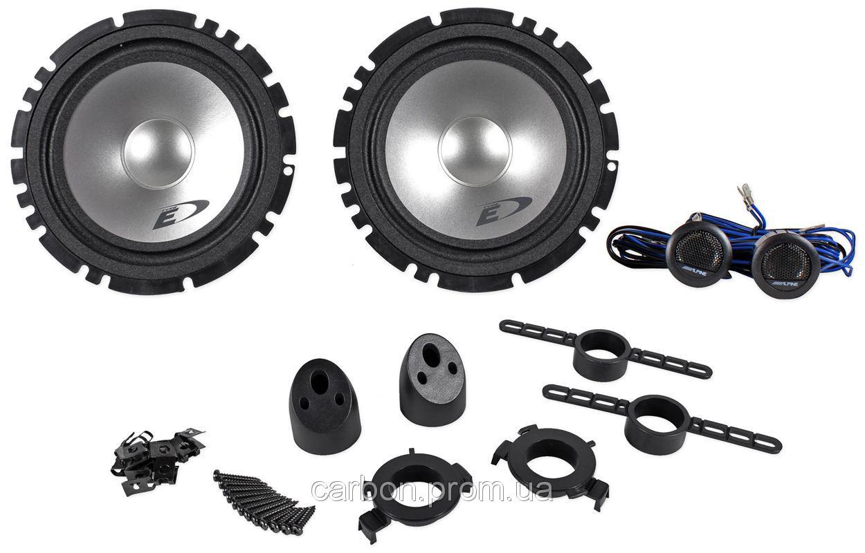 Автомобильная акустика Alpine SXE-1750S (17см) Компонентная 2-полосная
