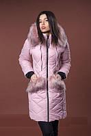 Красивая женская зимняя куртка на синтепоне. Опт и розница