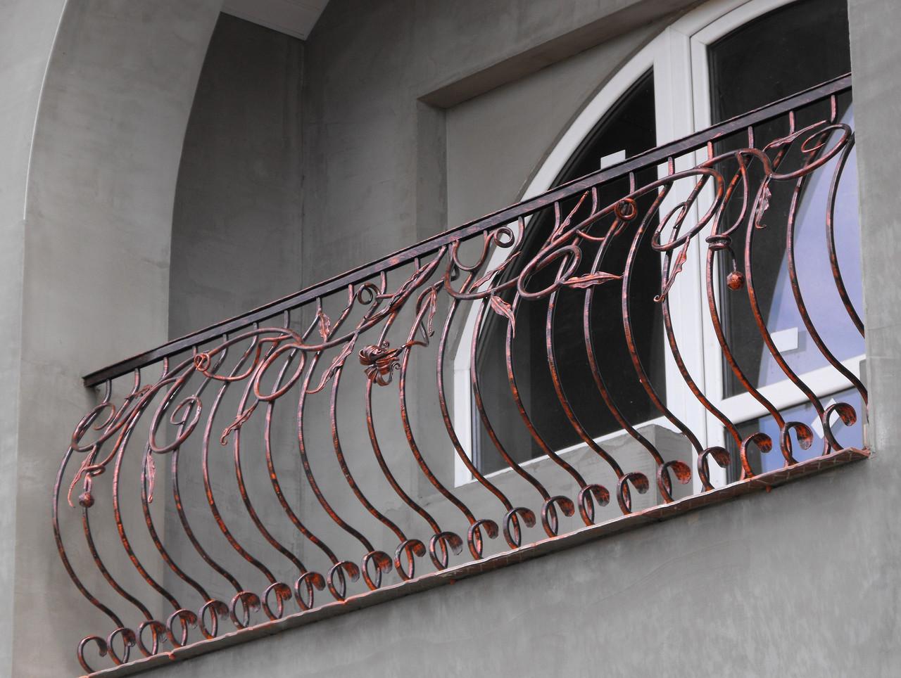 Перила кованые Барабан