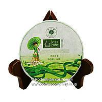 Чай Пуэр Шен Домашний Провинциальный прессованный 100г