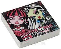 Ластик Monster High(Монстер Хай)  Kite квадратный