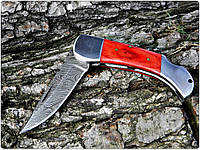 Нож дамасский Клинок ручная работа K1 R3 RED