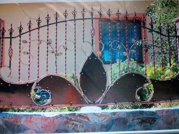 Заборы кованые Опера, фото 2