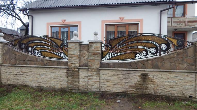 Заборы кованые Павлін, фото 2