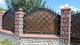 Забор кованый Адреналін ( Адреналин)