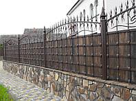 Забор кованый Зевс(дерево)