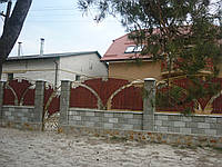 Забор кованый Веста