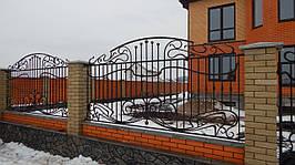 Забор кованый Флай