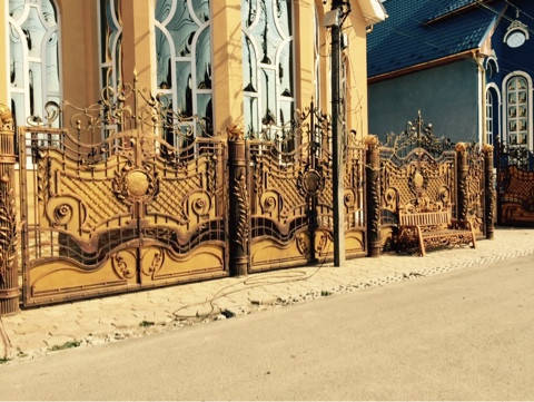 Забор кованый Астра, фото 2