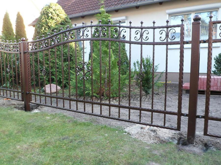 Забор кованый Поляк