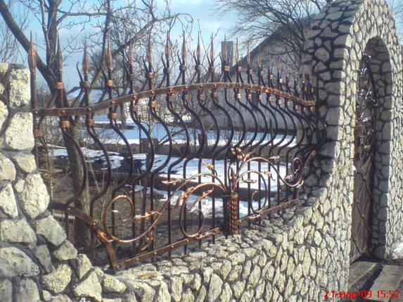 Забор кованый Князь, фото 2