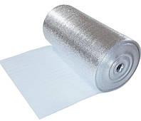 Фольгированный изоляционный материал с самоклеющимся слоем Изолон 100 (air) - толщина полотна 3 мм.