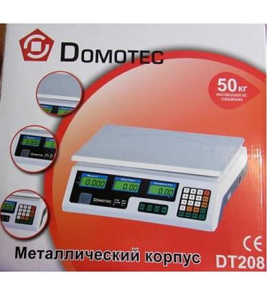 Электронные весы Domotek DT-208    , фото 2