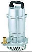 Насос дренажный алюминиевый для воды QDX1.5-16-0.37 (металлик)