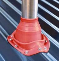 Кровельный проход Dektite Original (Master flash) для металлических и битумных крыш 150-280мм, Красный силикон