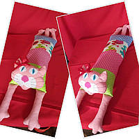 Подушка Игрушка с мордочкой апликацией.