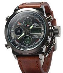 Ударопрочные кварцевые армейские часы AMST Оригинал